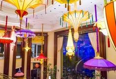 A instalação da flor do hotel de Las Vegas Wynn Imagens de Stock Royalty Free