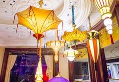 A instalação da flor do hotel de Las Vegas Wynn Fotos de Stock