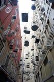 A instalação da gaiola de pássaro em Sydney Imagem de Stock