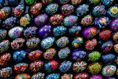 A instalação da Páscoa (grupo dos ovos da páscoa 4) Imagem de Stock