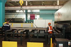 A instalação da preparação do metal fotos de stock