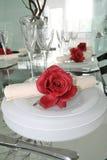Instalação da tabela de Dinning foto de stock royalty free