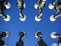 A instalação das lâmpadas Fotos de Stock