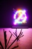 A instalação de Bruce Nauman, Arsenale 56th Veneza bienal Imagem de Stock Royalty Free