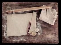 Instalação de cozimento caseiro do vintage Fotografia de Stock