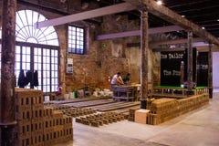 A instalação de Rirkrit Tiravanija, Arsenale 56th Veneza bienal Imagem de Stock