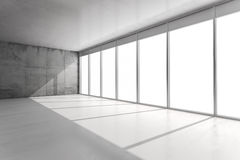 instalação do interior do vintage do sumário 3d Imagem de Stock