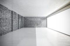 instalação do interior do vintage do sumário 3d Fotos de Stock