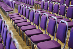 Instalação dos assentos fotografia de stock royalty free