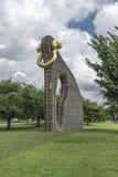 A instalação grande da arte de Bling Fotografia de Stock Royalty Free