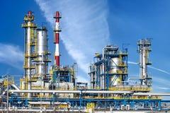 Instalação petroquímica Fotografia de Stock Royalty Free
