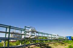 Instalação petroquímica em Tailândia Imagem de Stock