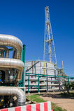 Instalação petroquímica em Tailândia Fotografia de Stock Royalty Free