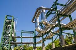 Instalação petroquímica em Tailândia Imagem de Stock Royalty Free
