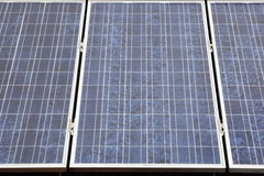 A instalação Photovoltaic Imagem de Stock