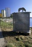 A instalação Vancôver da arte, Canadá imagem de stock royalty free