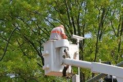 Instalación de la cámara del tráfico Foto de archivo libre de regalías