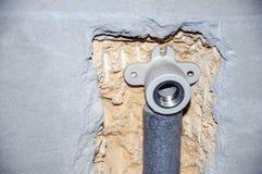 Instalación de la fontanería Fotos de archivo