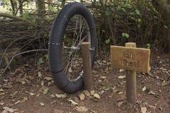 Instalación de la rueda de la lluvia Fotografía de archivo