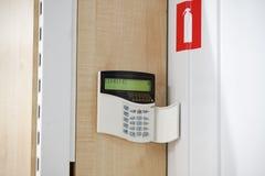 Instalación de la seguridad de la seguridad en la empresa Fotografía de archivo