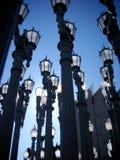 Instalación de las lámparas Imágenes de archivo libres de regalías