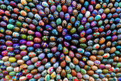 Instalación de Pascua (grupo de huevos de Pascua 3) Imagen de archivo libre de regalías