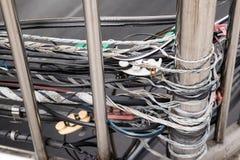 Instalación de sistema, conexión de Tailandia Fotografía de archivo