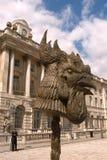 Instalación del Ai Weiwei, círculo de animales Imagenes de archivo