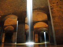 Instalación del arte del agua imagenes de archivo