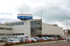 Instalación del arte, Bexhill-en-Mar Imagen de archivo libre de regalías