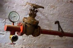 Instalación hidráulica Imagen de archivo