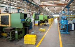 Instalación moderna de fábrica automatizada Imagen de archivo libre de regalías