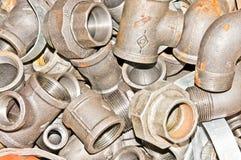 Instalaciones de tuberías Foto de archivo
