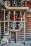 Instalaciones del fuego Foto de archivo