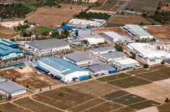 Instalaciones industriales de las fábricas y del almacenamiento del estado imagen de archivo