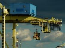 Instalaciones portuarias en Montreal 2 Imagen de archivo libre de regalías