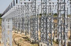 Instalacja elektryczna Zdjęcie Stock
