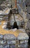 Instalacja wodnokanalizacyjna Mach Picchu Zdjęcia Royalty Free