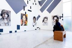 Instalacyjny widok Irysowy Kensmil, tytułujący pomiar obecność dla Holenderskiego pawilonu przy 58th Wenecja Biennale, 2019 zdjęcie royalty free