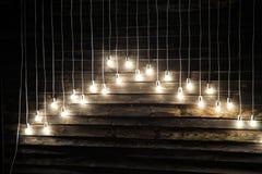 Instalation delle lampade Immagine Stock Libera da Diritti