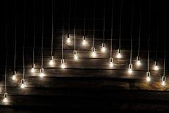 Instalation delle lampade Fotografia Stock