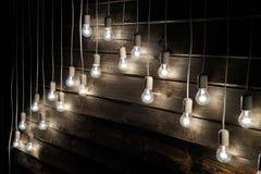 Instalation delle lampade Fotografia Stock Libera da Diritti