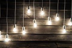 Instalation delle lampade Immagini Stock