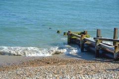 Instale tubos llevar en el mar fotografía de archivo