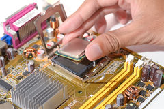 Install cpu Royalty Free Stock Photography