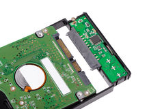 Install HDD to external enclosure case Stock Photo