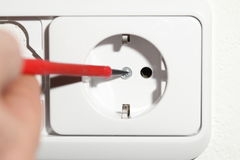 Install socket Stock Photos