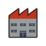 Installatie de bouwpictogram De industrieontwerp Grafische vector Royalty-vrije Stock Afbeelding
