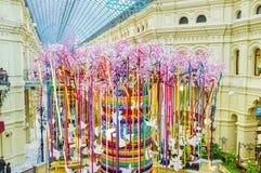 Installatie van reuzeboom stock fotografie