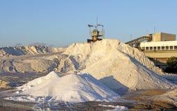 Installatie voor de extractie van zout Royalty-vrije Stock Foto